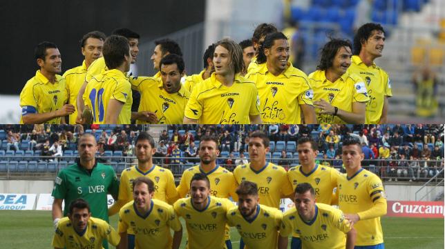 Comparativa entre el Cádiz que ascendió en la temporada 2008-09 y el Cádiz de la 2014-15.