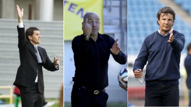 Comparativa entre Javi Gracia, Claudio Barragán y Jose González