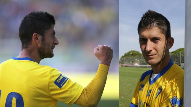 Fran Machado, mediapunta del Cádiz CF