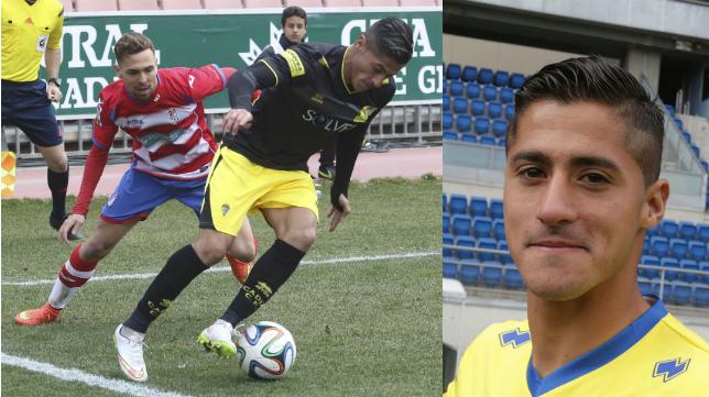 Hugo Rodríguez, mediapunta del Cádiz CF.