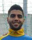Jona Mejía, delantero del Cádiz CF
