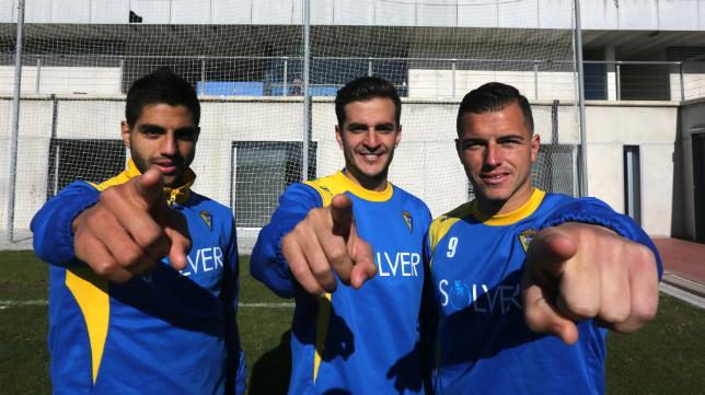El Cádiz CF necesita delanteros capaces de sustituir a Jona, Airam y Juan Villar.
