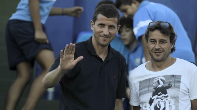 Juan Solla y Javi Gracia, partícipes del último ascenso del Cádiz CF, forman ahora el mismo tándem en Málaga.