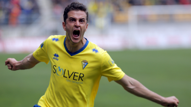 Juan Villar es uno de los mejores jugadores del Cádiz CF