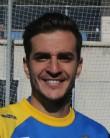 Juan Villar, delantero del Cádiz CF.