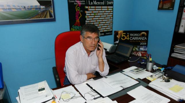 Julio Fernández Peguero, antiguo director deportivo del Cádiz CF.