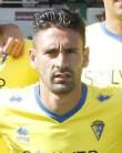 Kike Márquez, mediapunta del Cádiz CF.