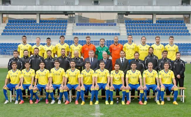 La plantilla del Cádiz CF para la temporada 2014-2015