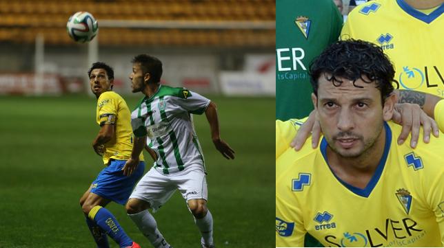 Sergio Mantecón, centrocampista del Cádiz CF