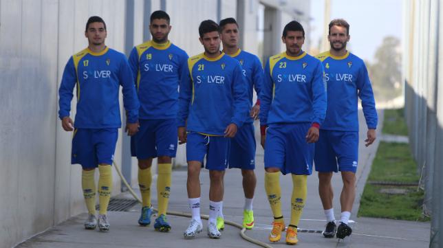El delantero del Cádiz CF Jona es duda para el choque con el Cacereño