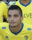 Tomás Sánchez, lateral del Cádiz CF.