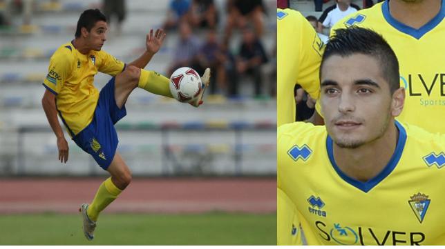 Tomás Sánchez, lateral del Cádiz CF-