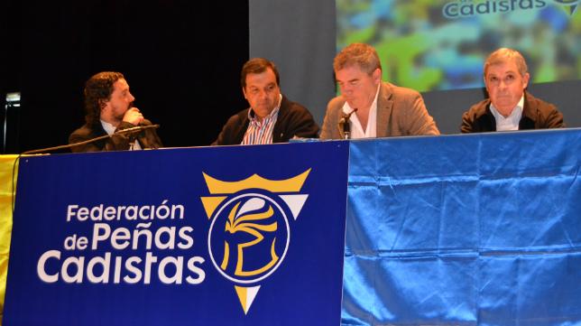 La Federación de Peñas del Cádiz CF celebró su primera Convención en Medina Sidonia