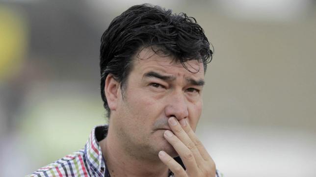 Rafa Escobar, entrenador de la Balona.