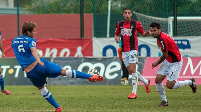 Joao Meira se ha ganado un hueco en la primera división del fútbol portugués.