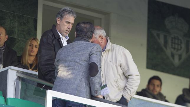 Oli, en un partido del Betis.