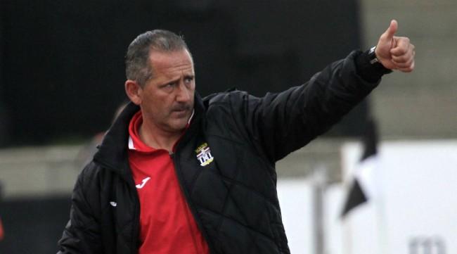 Palomeque, entrenador del Cartagena.