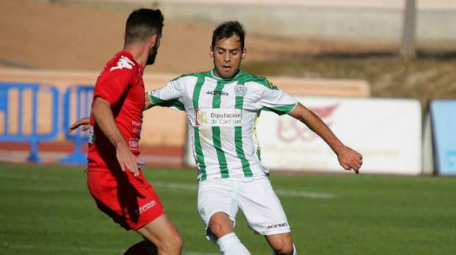 Damián Petcoff, en un partido con el Córdoba B.