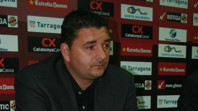 Emilio Viqueira, director deportivo del Nástic.