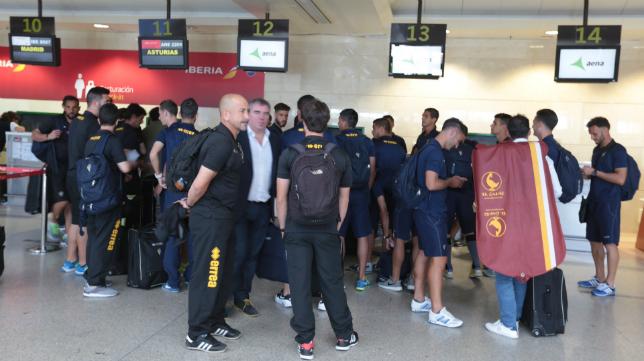 El Cádiz CF volverá a salir desde el Aeropuerto de Jerez