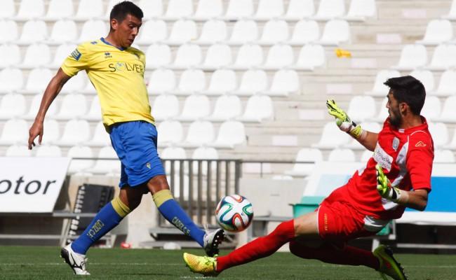 Navarrete pudo marcar ante el Córdoba B