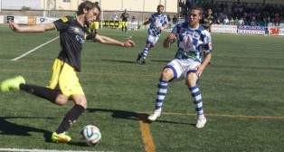 El lateral Manu Sánchez debutó con el Cádiz CF en su día. Foto: Jorge Rey.