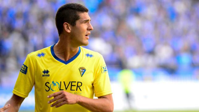 Garrido podrá jugar este domingo el partido de vuelta