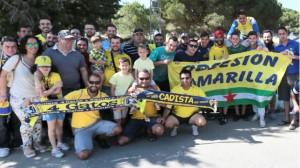 El Cádiz CF se arropó de los suyos en El Rosal