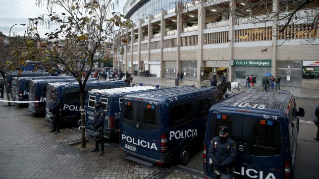 El Oviedo-cádiz CF ha sido declarado partido de alto riesgo.
