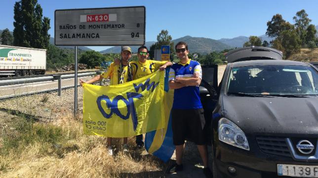 Los cadistas ya van camino de Oviedo