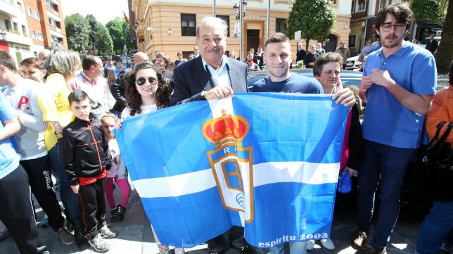 Carlos Slim es el máximo accionista del Real Oviedo