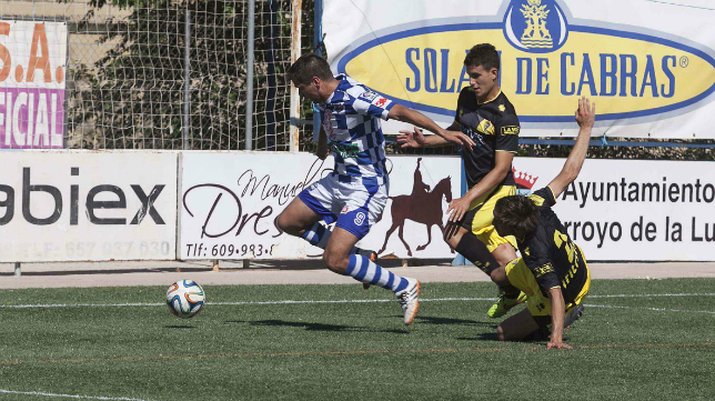 El Cádiz CF cayó derrotado en Arroyo