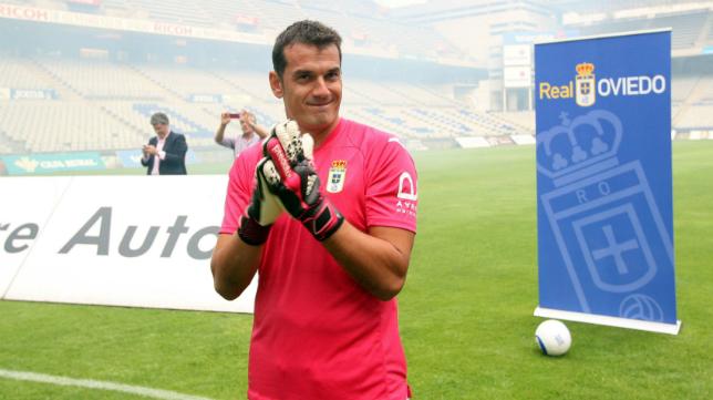 Esteban bajó de Primera División a Segunda B para ascender al club de sus amores.