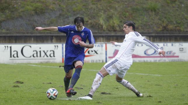 García-Noblejas, lateral del Real Madrid Castilla.