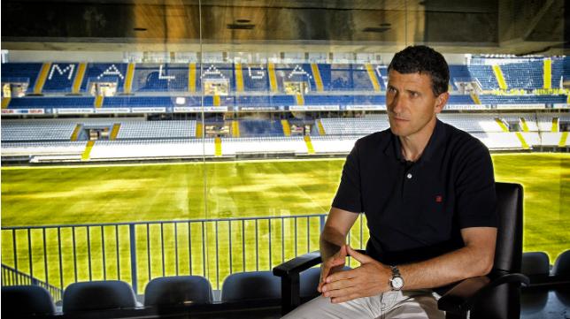 Javi Gracia, entrenador del Málaga, fue el último técnico en conquistar un ascenso con el Cádiz CF.