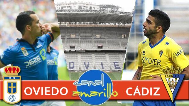 Te contamos el Oviedo - Cádiz CF en directo