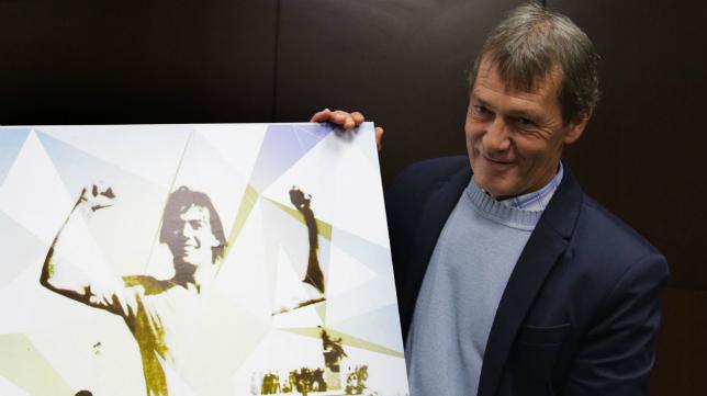 Pepe Mejías, ídolo de la afición del Cádiz CF