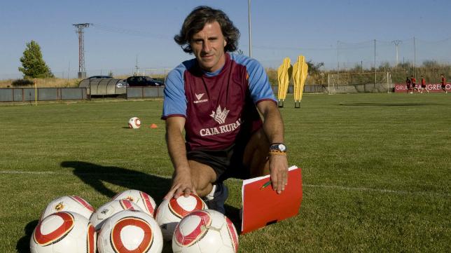 Roberto Aguirre ha entrenado a Prada las últimas tres temporadas en el Zamora.