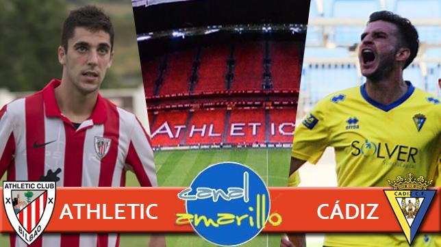 En directo Bilbao Athletic - Cádiz CF
