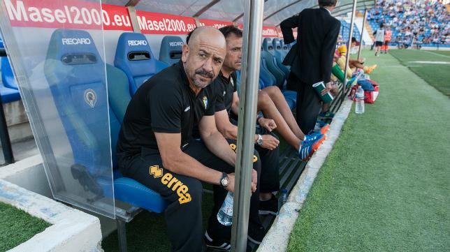 Claudio en el Rico Pérez de Alicante