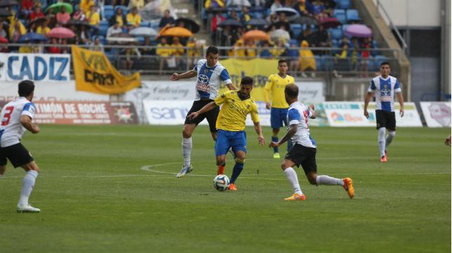Juanma Espinosa, titular ante el Hércules
