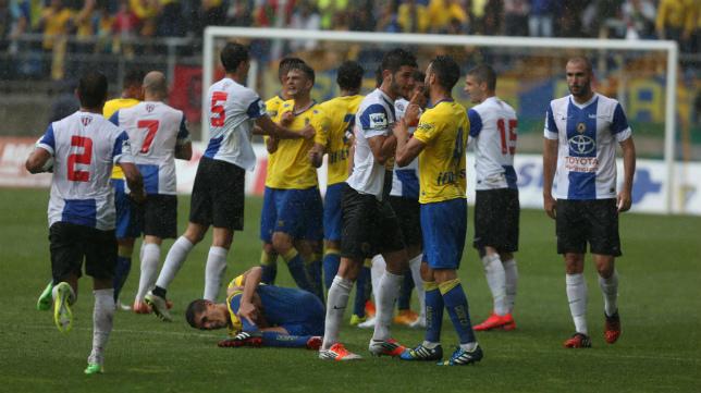 Imágen del último Cádiz CF - Hércules en Carranza
