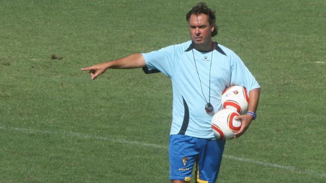 Pepe Losada fue preparador físico del Cádiz CF.