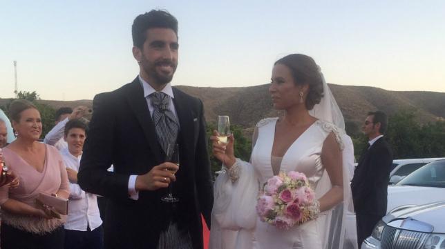 Chico Flores y su esposa Davinia Ciendones