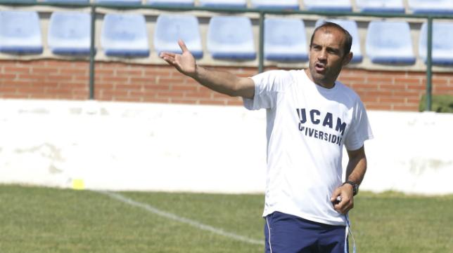 Eloy Jiménez ha sido el entrenador del UCAM Murcia esta temporada.