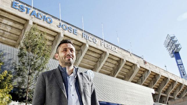 Manolo Herrero, entrenador del Hércules.