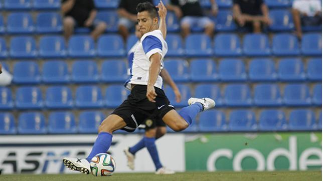 Mikel Martins, exjugador del Cádiz CF y actualmente en el Hércules