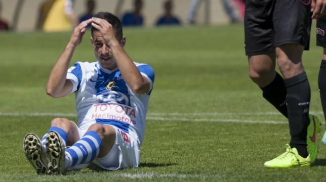 Mikel Martins ha perdido su sitio en el once del Hércules.