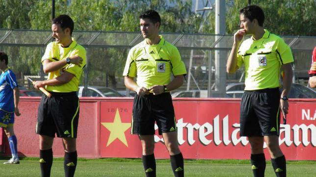 Ortíz Arias, árbitro del Cádiz - Bilbao Athletic en Carranza