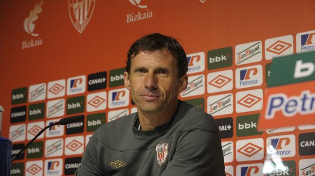 'Cuco' Ziganda, entrenador del Bilbao Athletic